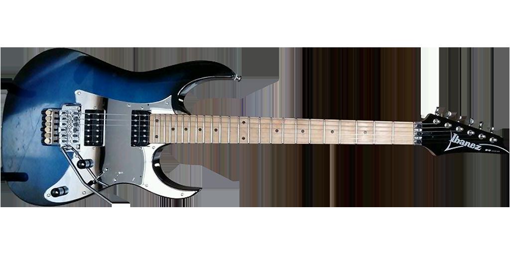 Custom guitar by Mills Custom Guitars.