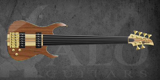 Maple Merus Mahagony Bass.